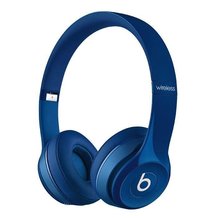 beats solo 2 wireless casque audio bluetooth bleu casque couteur audio avis et prix pas. Black Bedroom Furniture Sets. Home Design Ideas