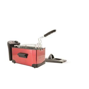 FRITEUSE ELECTRIQUE KITCHEN FRIDAY FRY Friteuse – 2300W – 3.3L - Rouge