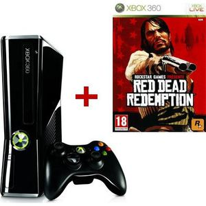 CONSOLE XBOX 360 Xbox 360 250 Go + Red Dead Redemption