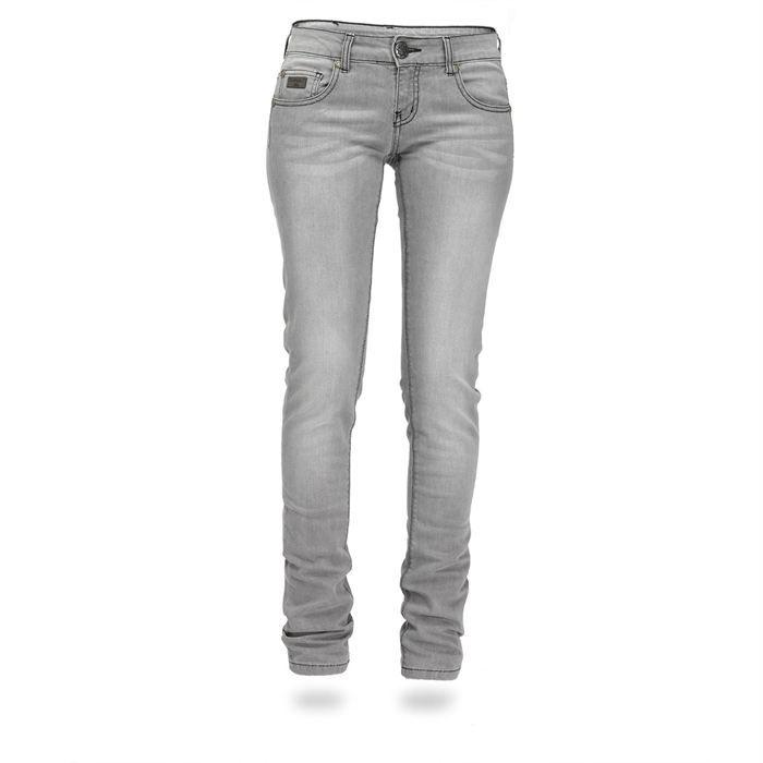 kaporal jean lova femme gris achat vente jeans kaporal. Black Bedroom Furniture Sets. Home Design Ideas