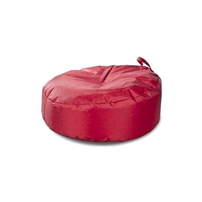v2 design pouf rond rouge achat vente pouf poire cdiscount. Black Bedroom Furniture Sets. Home Design Ideas