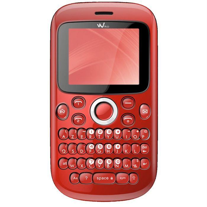 wiko minz rouge achat t l phone portable pas cher avis. Black Bedroom Furniture Sets. Home Design Ideas
