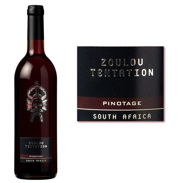 VIN ROUGE Zoulou Tentation
