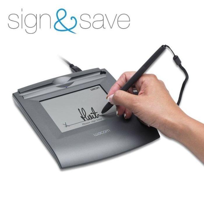 wacom tablette graphique sign save achat vente tablette graphique wacom sign save. Black Bedroom Furniture Sets. Home Design Ideas