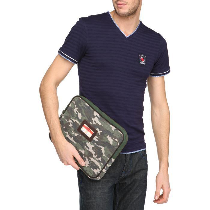 pepe jeans housse pc portable 13 pouces vert achat. Black Bedroom Furniture Sets. Home Design Ideas