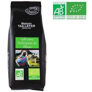 CAFÉ - CHICORÉE Café Arabica Bio du Pérou Sachet 125g