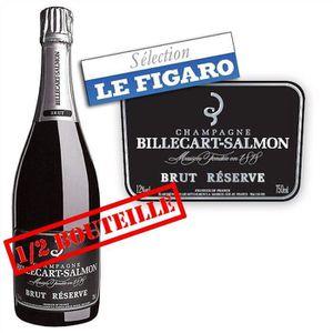 CHAMPAGNE Demi-bouteille Billecart-Salmon Brut Réserve