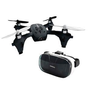 DRONE Pack QIMMIQ Drone NINJA Noir + Lunette réalité vir