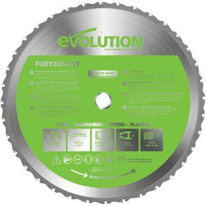 ACCESSOIRE MACHINE EVOLUTION Lame multi-usages FURY 355mm