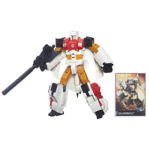 FIGURINE - PERSONNAGE TRANSFORMERS Combiner Voyager Silverbolt