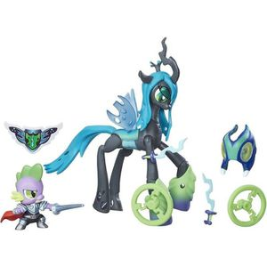 FIGURINE - PERSONNAGE MY LITTLE PONY Wonderbolts Pack Chrysalis + Spike