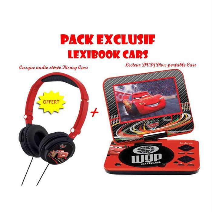 cars pack exclu lecteur dvd casque offert achat vente lecteur dvd enfant cdiscount. Black Bedroom Furniture Sets. Home Design Ideas