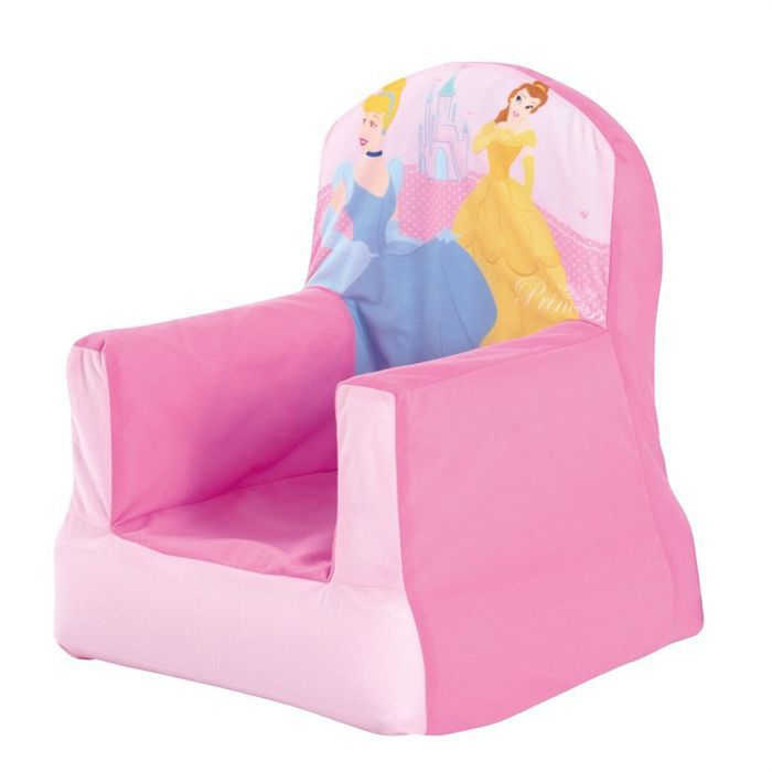 Chaise gonflable disney princesses achat vente chaise for Chaise gonflable