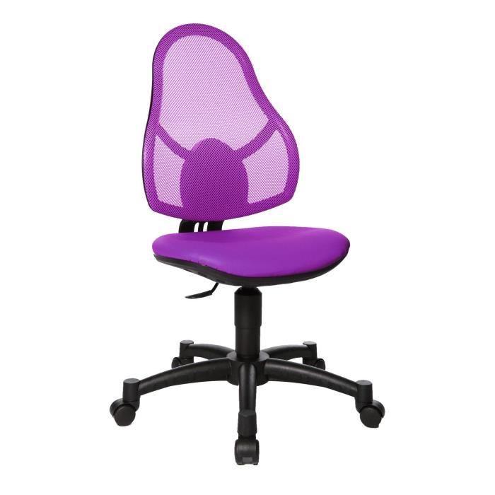 topstar si ge pour enfant open art junior violet achat vente chaise de bureau cdiscount. Black Bedroom Furniture Sets. Home Design Ideas