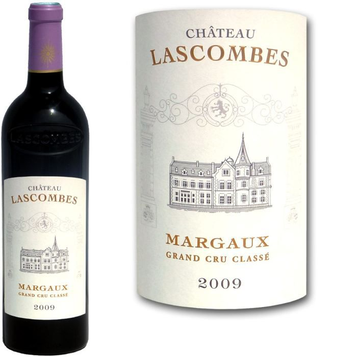 VIN ROUGE Château Lascombes Margaux 2009