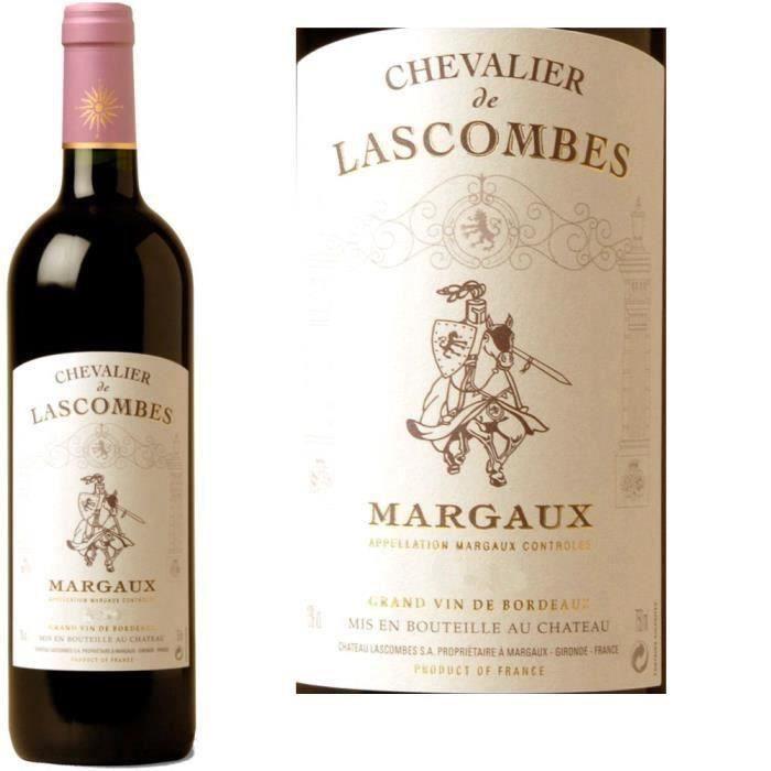 VIN ROUGE Chevalier de Lascombes Margaux 2010