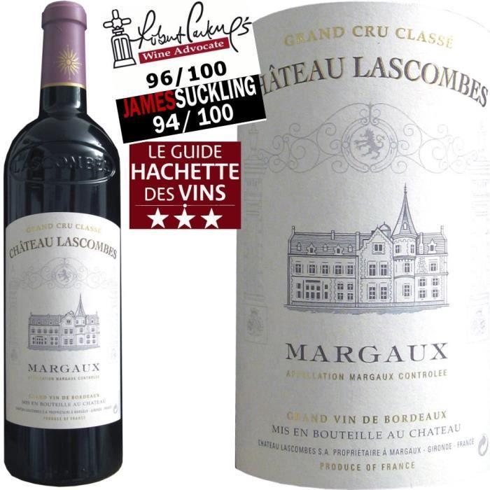 ch teau lascombes margaux 2010 vin rouge achat vente vin rouge ch lascombes margaux 2010. Black Bedroom Furniture Sets. Home Design Ideas