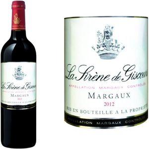 VIN ROUGE Sirène de Giscours Margaux 2012 vin rouge