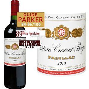 VIN ROUGE Château Croizet Bages Pauillac 2013 - Vin rouge