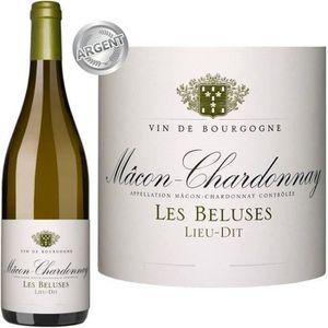 VIN BLANC Cave de Lugny Mâcon Chardonnay Les Béluses 2014 vi