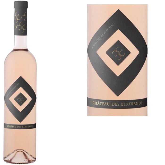 VIN ROSE Château des Bertrands 2013 Côtes de Provence Rosé