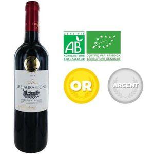 VIN ROUGE Château Les Aubastons 2014 - Vin rouge x1