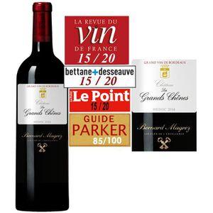 VIN ROUGE Château Les Grands Chênes Médoc 2014 - Vin Rouge