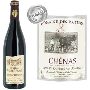 VIN ROUGE Domaine des Rosiers Chénas 2014 - Vin rouge