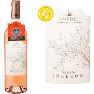 VIN ROSÉ Amédée Excellence Luberon  2015 - Vin rosé
