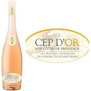 VIN ROSÉ Cep Or Rosé Côtes de Provence 2015 - Vin rosé