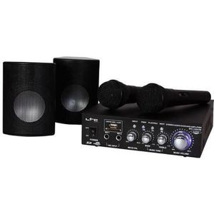 MICROPHONE - ACCESSOIRE BOOST KS20 Kit Karaoké 2 micros 100W avec amplific