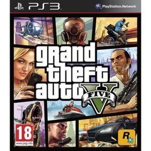 JEU PS3 GTA 5 / Jeu console PS3