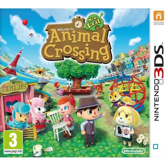 animal crossing new leaf jeu 3ds achat vente jeux 3ds animal crossing new leaf 3ds cdiscount. Black Bedroom Furniture Sets. Home Design Ideas