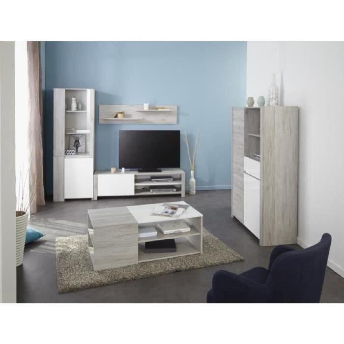 ... salon complet TESSA Ensemble meubles de salon Structure : Panneaux de