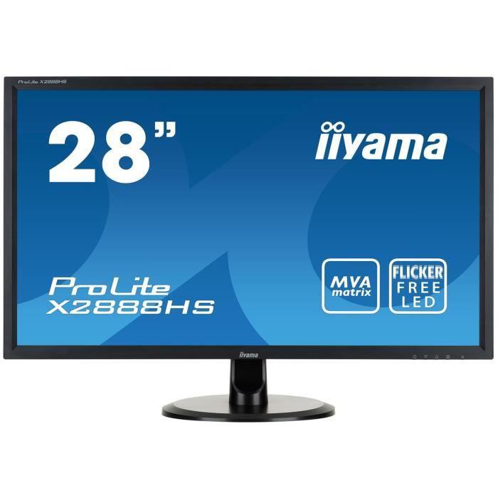 """iiYama écran 28"""" X2888HS B1 Achat / Vente ecran ordinateur iiYama"""