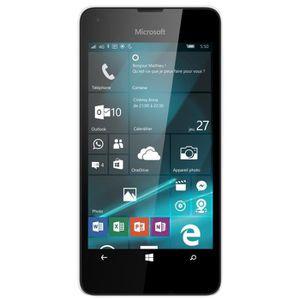 lumia 550 blanc achat smartphone pas cher avis et. Black Bedroom Furniture Sets. Home Design Ideas