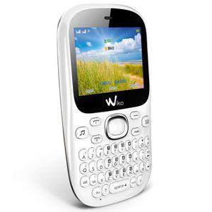 wiko minz blanc achat t l phone portable pas cher. Black Bedroom Furniture Sets. Home Design Ideas