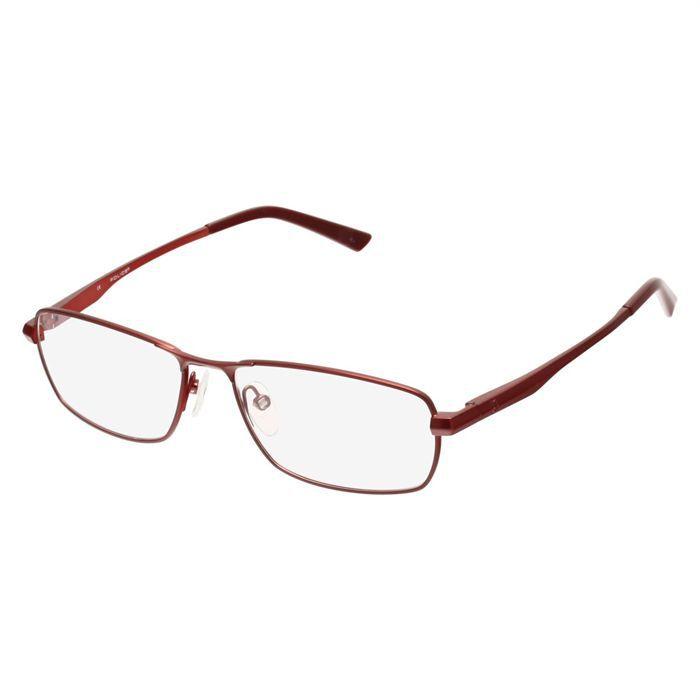 police monture de lunettes de vue mixte bordeaux achat vente lunettes de vue police monture. Black Bedroom Furniture Sets. Home Design Ideas