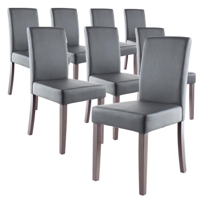 Chaise salon grise finest chaise salon de jardin for Chaise salon grise