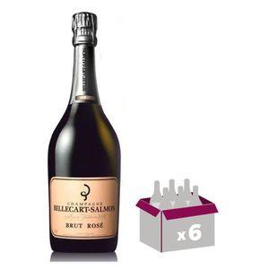 CHAMPAGNE Billecart-Salmon Brut Rosé x6
