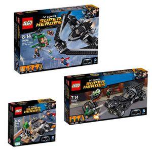 ASSEMBLAGE CONSTRUCTION LEGO® Super Heroes - Batman Vs Superman (76044 + 7