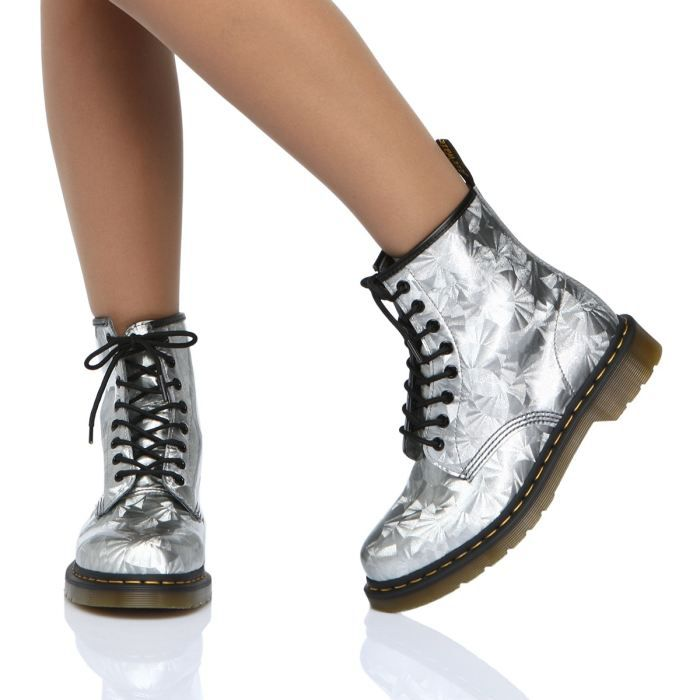 chaussures femme dr martens bottines  f sil