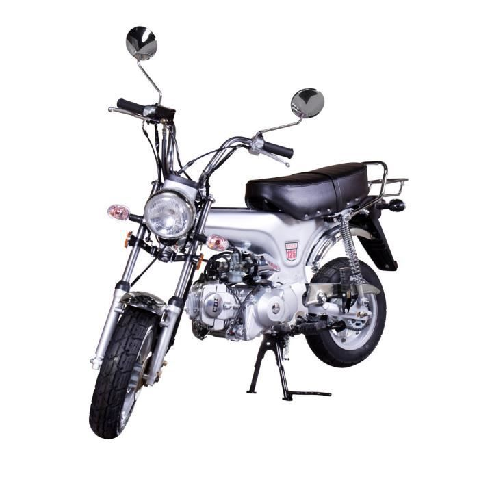mini moto 125 cc silver dax replica achat vente moto. Black Bedroom Furniture Sets. Home Design Ideas