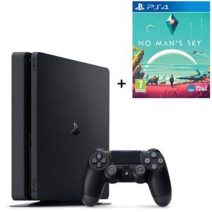 CONSOLE PS4 NOUVEAUTÉ Nouvelle PS4 Slim Noire 500 Go + Jeu No Man's Sky