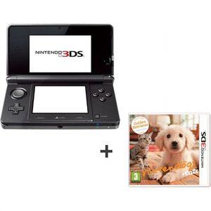 CONSOLE DS LITE - DSI 3DS NOIRE COSMOS + NINTENDOGS + CATS GOLDEN
