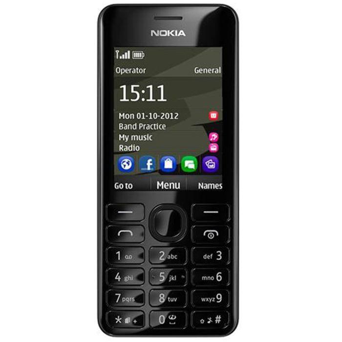 NOKIA 206 Dual SIM Noir