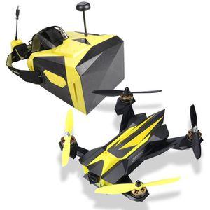 DRONE Pack QIMMIQ QIF RACER Drone Jaune + Casque Réalité