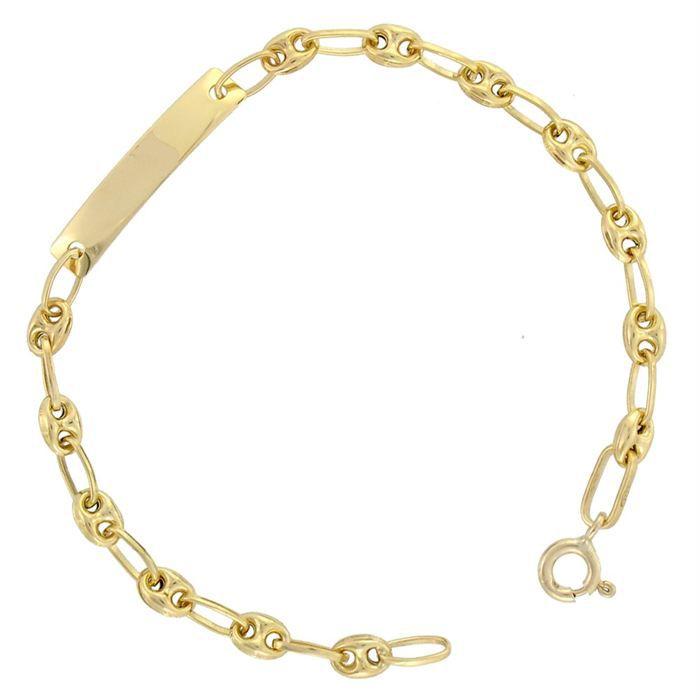 R ve de diamants bracelet or 375 enfant dor achat - Gourmette graine de cafe argent ...