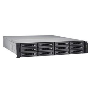 SERVEUR STOCKAGE - NAS  QNAP NAS unifié 12 baies TVS-EC1280U-SAS-RP