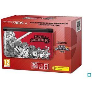CONSOLE 3DS Console 3DS XL Edition Limitée Super Smash Bros